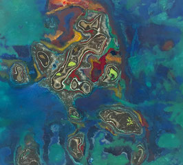 ohne Titel, Bild, B.E.B.060, Bärbel Ertl-Beddig, informelle Kunst, tOG-Düsseldorf, take OFF GALLERY, B. Ertl,