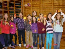 Tag des Apfels in der Volksschule