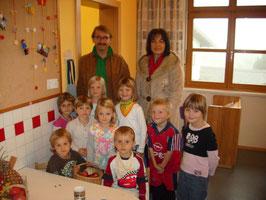 Tag des Apfels im Kindergarten