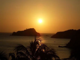 "Blick von Rodadero auf die ""Isla del Pelikano"" -  Danke Kalle"