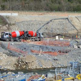 Pompe à beton 36m - corse