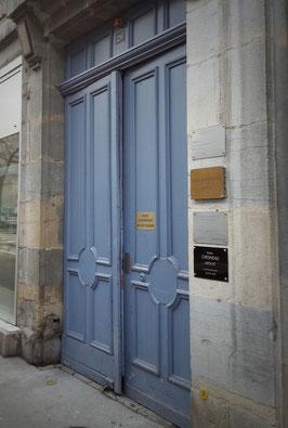 Avocat Besançon (25000), Maître Chesneau Elodie, Entrée du Cabinet 26 Rue Mégevand