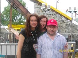 Tina und Melanie und Michael