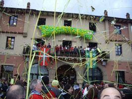 Pregón de Untza Mendi Taldea en el Ayuntamiento