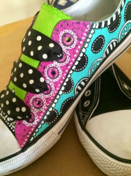 Projects to try: Altered Canvas Shoe