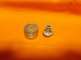子壷の形、色合いは貴重な1点物