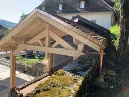 charpente chalet Zivko porche auvent ablondi meribel