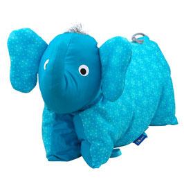 Tierkissen Elefant türkis