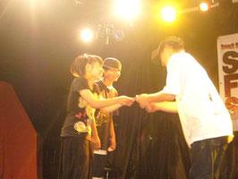 準優勝:デラックマ (しおん、ゆうな)