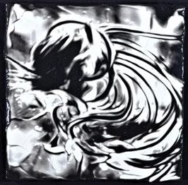 Black & White III   (45X45cm)  2017
