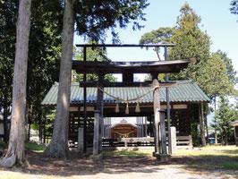 今井神社(長野県松本市) 今井兼平の館跡という。