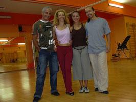 Roberto Reis y Lucilla Cionci nella nostra scuola
