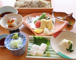豆腐と湯葉の健美コース