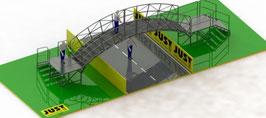 JUST AG - Kart Bogenbrücke