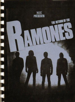 """Information Sheet"" der Ramones"