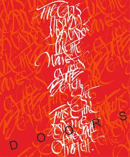 Kalligrafie Doors
