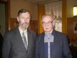 Мустафин Илия Мустафьевич и Фёдоров Павел Борисович 15 января (Москва, Союз писателей России)