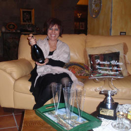 Rosaria Martone, autrice di Un Delizioso Consòlo; contenuto nell'antologia Je suis Chocolat