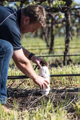 Mise en place d'un capteur de données All in One dans les champs avec Agralis
