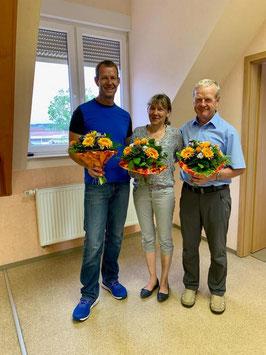 Begrüßung des neuen Ortsvorstehers Olaf Schwinghoff