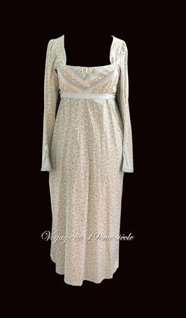 location costumes historiques robe de jour premier empire regency