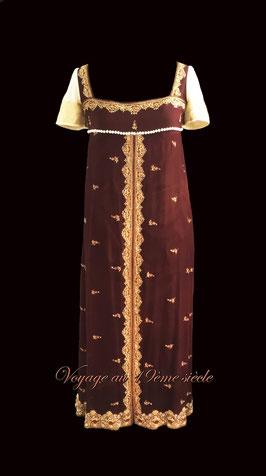 location robe de bal premier empire regency