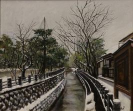 冬景色Ⅱ (油彩・F10)