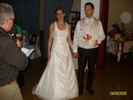 das Brautpaar Almuth und Karsten