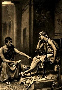 Aristotele precettore di Alessandro Magno