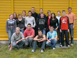 Klassenfoto: 1. Schultag