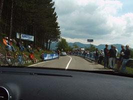 Bergwertung der giro d`italia 2005
