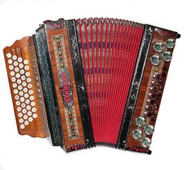 Harmonika Steirisch Hohner gebraucht
