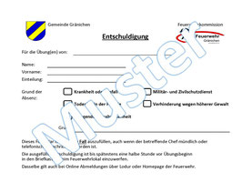 Formular als PDF downloaden, ausfüllen und im Email als Anhang senden!