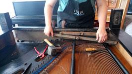 Klavier-Upcycling in meiner Werkstatt