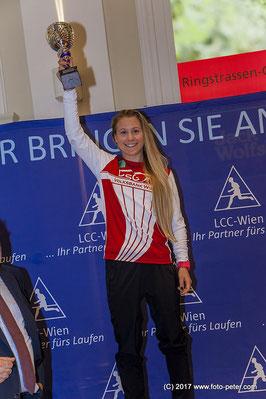 Mayer Julia Sieg Silvesterlauf LCC Wien