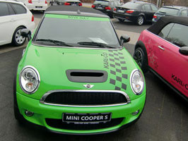 Mini von Schwarz > zu Grün