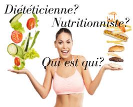 diététicienne ou nutritionniste