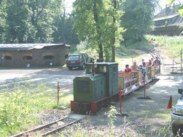 Diema DS30    Diese Lok der WFB ist jetzt wieder in Deinste