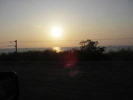 Sonnenuntergang am Meer...