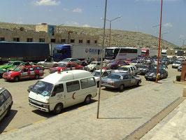 Warten an der syrischen Grenze