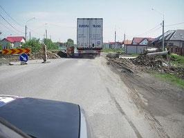 rumänische Landstraße
