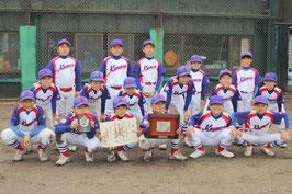 準優勝-川北町学童野球クラブ