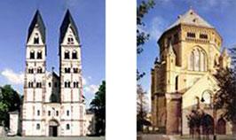 St. Kastor - Koblenz  -  - - - - -  - -St. Gereon - Köln