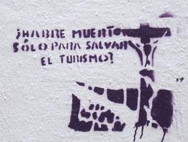 Graffito in Zamora