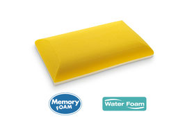 cuscino nido reload memory water foam fresh saponetta ideariposo