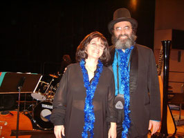 Nehama REUBEN & Shimon REUBEN. DUO REUBEN. harp & piano Concert Auditorium Boulogne Billancourt 2006