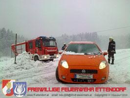 Einsatz PKW- Bergung 06.02.2010