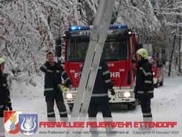 Einsatz Leitungfreischneiden 11.02.2010