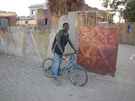 l'unique vélo aperçu à Diohine