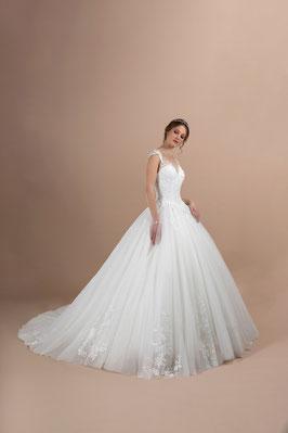 Jour de Fête Mariage Rodez collection robe de mariée Eglantine Création